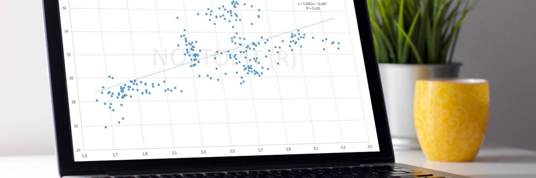 La correlazione con Excel